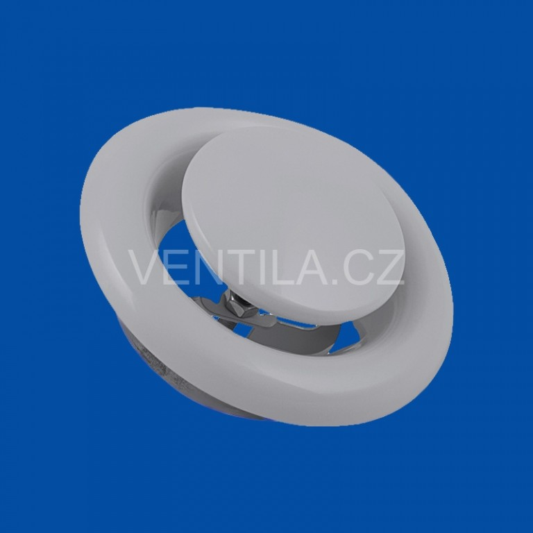Kovový talířový ventil KKO Ø 80 odtah