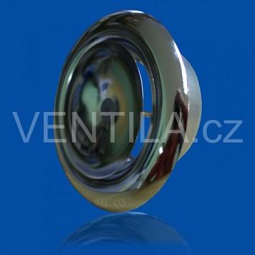Talířový ventil přívodní KN-S chrom
