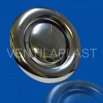 Talířový ventil odvodní KW-S chrom