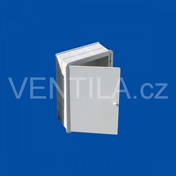 Plastový revizní box VP CI 300 x 400 B bez větrací mřížky