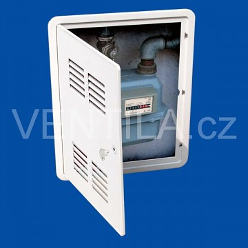 Plastový revizní box VP CIG 300 x 400 B s větrací mřížkou