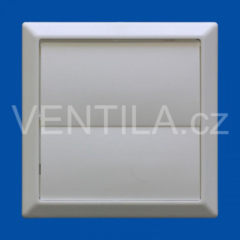 Větrací žaluzie bílá VP 100/154x154 HMZb