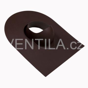Průchodový prvek - asfaltové a břidlicové krytiny, DN 110-160 mm / barevné