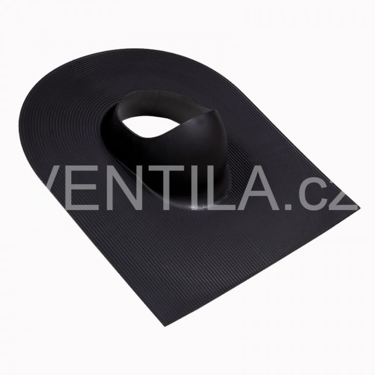 Průchodový prvek - asfaltové a břidlicové krytiny, DN 110-160 mm / Barva: Černá RAL9005