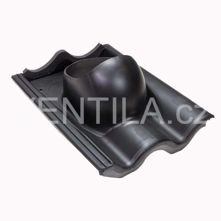 Průchodový prvek - betonové tašky - BRAMAC MAX, CLASSIC, DN 110-160 mm - Černá RAL9005