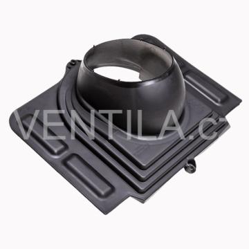 Průchodový prvek - profilované plechy - UNI, DN 110-160 mm / různé barvy