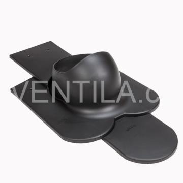 Průchodový prvek - hladké keramické tašky - PT20, DN 110-160 mm / různé barvy