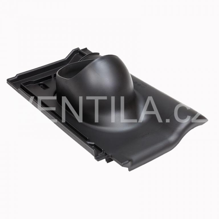 Průchodový prvek - keramické tašky - CREATON BALANCE, DN 110-160 mm - Černá RAL9005
