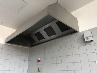Gastro digestoř nástěnná 3800x800x450/400
