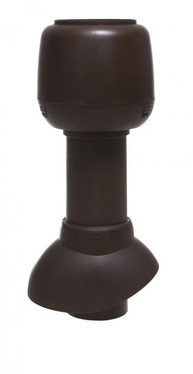 Odvětrávací potrubí 110P/300 + hlavice, černá RAL 9005