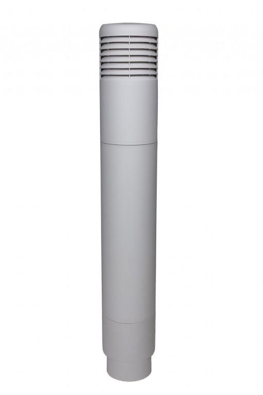 ROSS adaptér Ø 160-160, světle šedá RAL 7040
