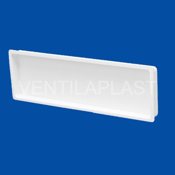 Plochá plastová záslepka VP 60x204 HZ