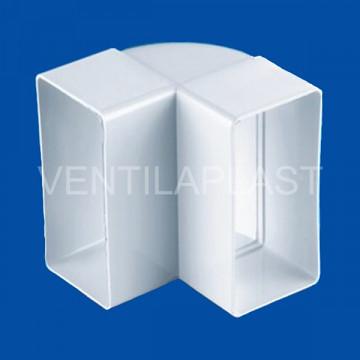 Plochá vertikální odbočka VP 55x110/90 HO