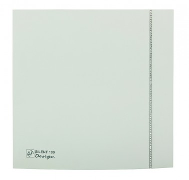 Soler&Palau SILENT 100 DESIGN Swarovski White CZ tichý