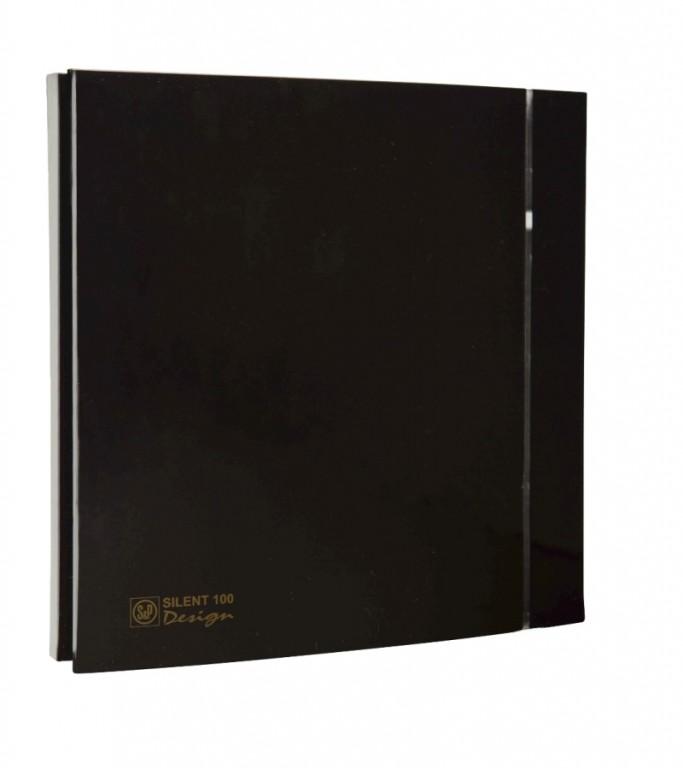Soler&Palau SILENT 100 DESIGN Black CZ 4C tichý
