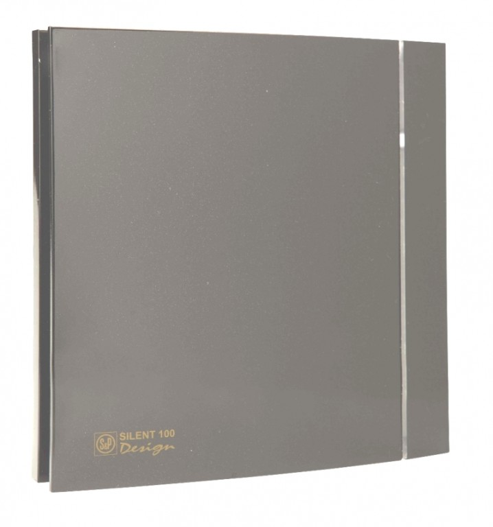 Soler&Palau SILENT 100 DESIGN Grey CZ 4C tichý
