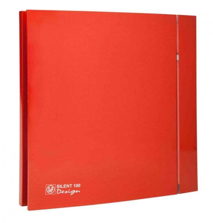 Soler&Palau SILENT 100 DESIGN Red CZ 4C tichý