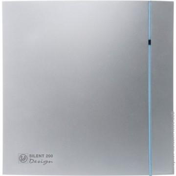 Soler&Palau SILENT 200 DESIGN Silver CZ 3C tichý