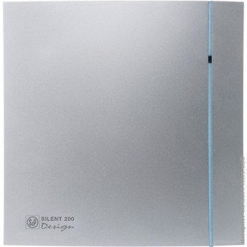 Soler&Palau SILENT 200 DESIGN Silver CRZ 3C tichý